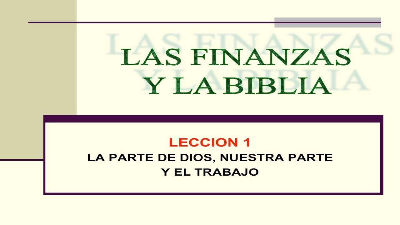 Finanzas Matrimonio Biblia : Las finanzas y la biblia serie luis