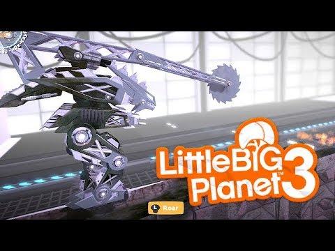 LittleBIGPlanet 3 - Test Area F-A3 [Cv Diamond Blade As Mech] - FURIO86   PS4