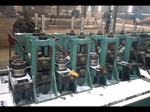 High Freqency Tubemill For Stainless Steel (Parth 50 TM HF) With Coil Accumulator