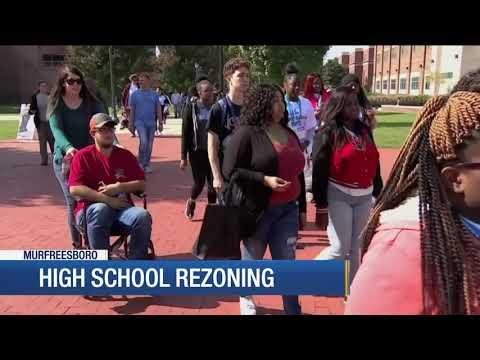 High school rezoning in Murfreesboro