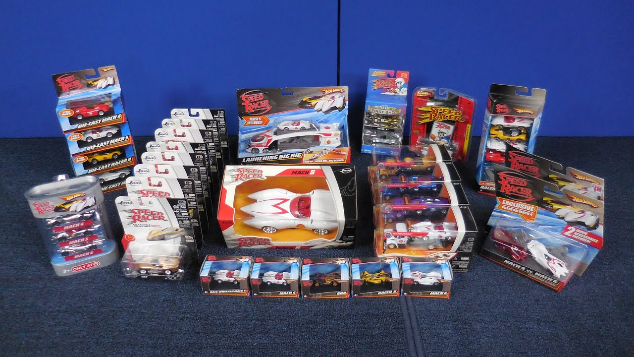 the $100 box of speed racer cars collection from hot wheels johnny