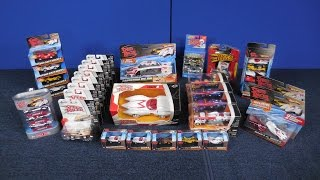 The $100 box of Speed Racer cars collection from Hot Wheels Johnny Lightning and Jada diecast models