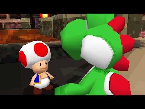 Another Super Mario 3D - 100% Walkthrough Part 1 - Treetrunk Meadow