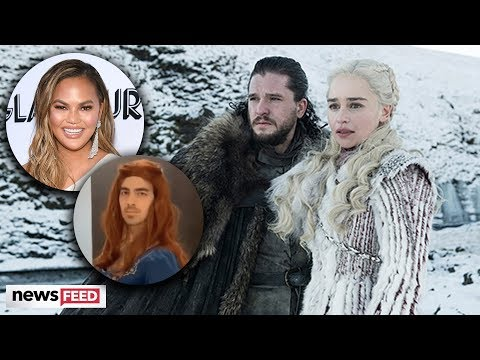 Celebs React To EPIC Game Of Thrones FINAL Season Premiere
