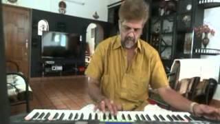gharse nikalte hi (papa kehtha hi) on keyboard
