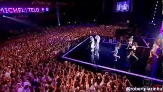 """Neymar canta con Michel Teló """"Ai se eu te pego""""  VIVO"""