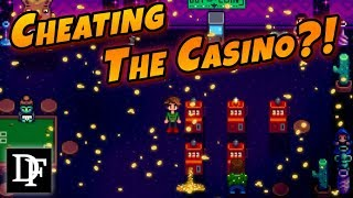 Qi Coins Trick! Cheating The Casino! - Stardew Valley