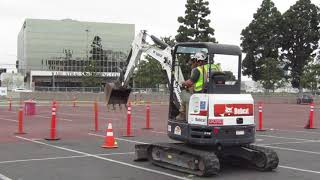 Video still for Cone Challenge-- Construction vs. Cancer, April 28, Anaheim, Calif.