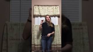 cowgirls don t cry brooks dunn reba mcentire asl sign language