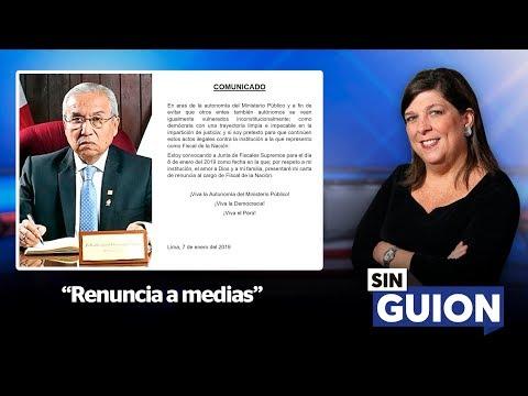 Renuncia a medias - SIN GUION con Rosa María Palacios