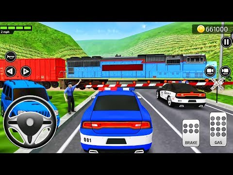 Driving Academy Simulator: Parking Frenzy 3D Police Car - Android GamepPlay #13