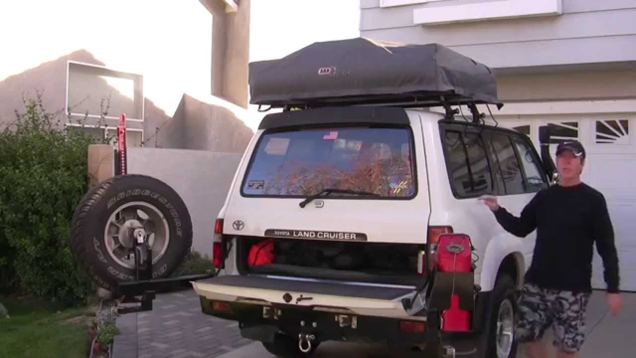 & ARB Simpson III Rooftop Tent Review - YouTube
