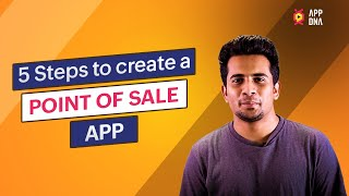 Point of Sale App | POS | Create a web database application with Low code