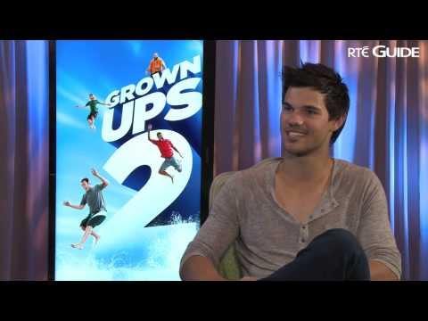 RTÉ Guide interviews Grown Ups 2 star Taylor Lautner
