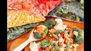 Заморозка овощей на зиму:что можно морозить?