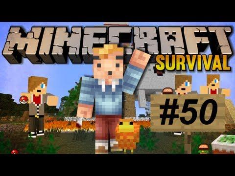 Minecraft Survival Deel 50 - Vijftig Aflevering? Daar Neem Ik Mijn Hoed Voor Af!