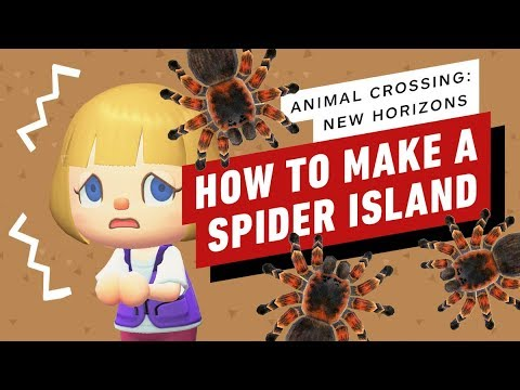 Animal Crossing New Horizons How To Make Your Own Spider Island