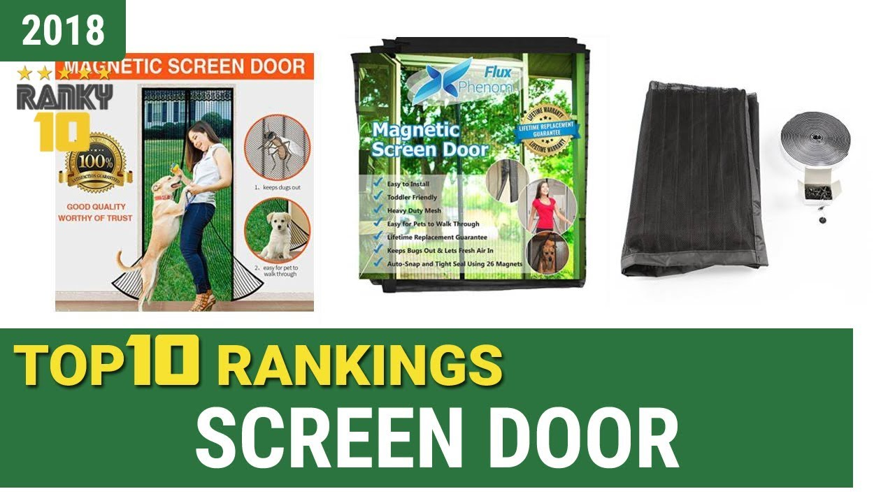 Best Screen Door Top 10 Rankings Review 2018 Buying Guide Youtube