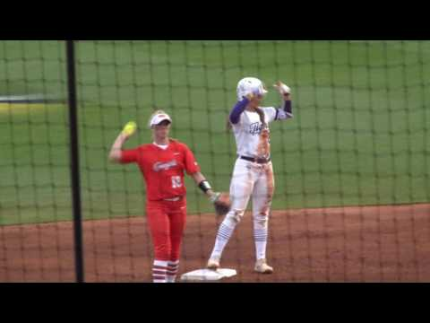 RAW HIGHLIGHTS: No. 4 LSU Softball defeats Oklahoma State in season-opener, 14-2