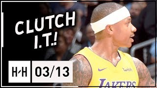Isaiah Thomas Full Highlights Lakers vs Nuggets (2018.03.13) - 23 Points, CLUTCH!