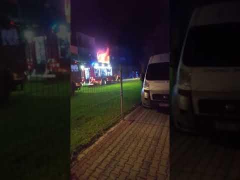 Pożar mieszkania w Krzyżanowicach [28.09.2017]
