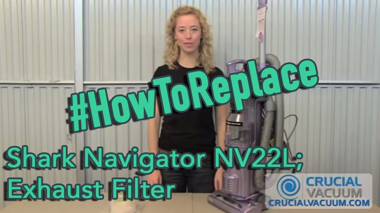 Shark Navigator Nv22l Vacuum Cleaner  Exhaust Filter Replacement  Part Xf22