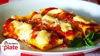 Cannelloni Recipe | Cannelloni Ricotta And Spinach | Cannelloni Della Nonna Recipe