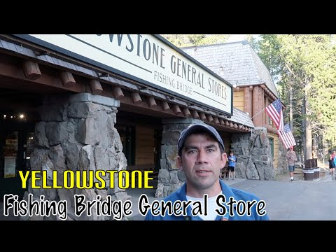 Yellowstone Fishing Bridge General Store Walk Through