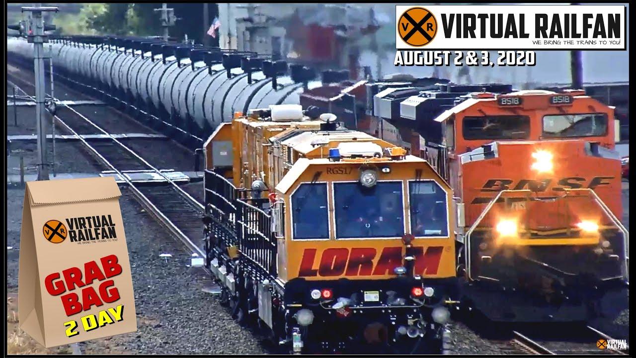 TWO DAY VIRTUAL RAILFAN GRAB BAG!  August 2 & 3, 2020