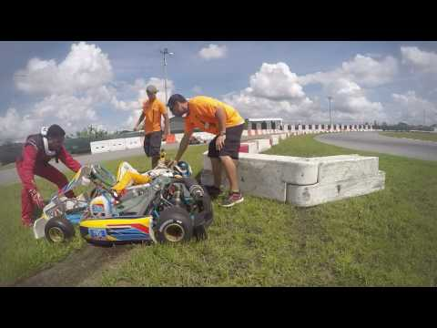 Karting accident at Orlando kart center