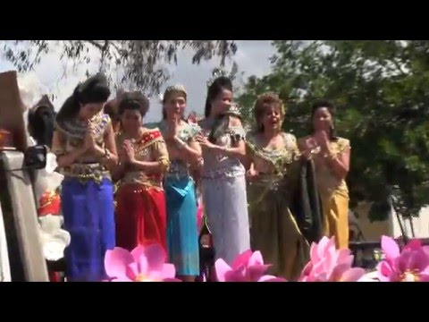 Cambodian New Year Parade in Long Beach, California