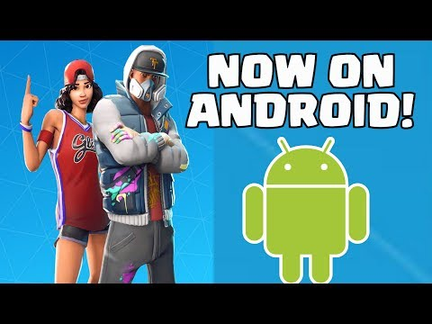 FORTNITE ANDROID BETA   HOW TO GET DOWNLOAD FORTNITE ON ANDROID EASY