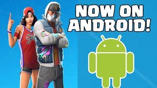 FORTNITE ANDROID BETA | HOW TO GET DOWNLOAD FORTNITE ON ANDROID EASY