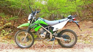 Kawasaki KLX125 走ってみた106【林道土室日川線】 thumbnail