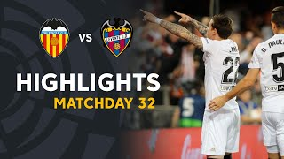 Highlights Valencia CF vs Levante UD (3-1)