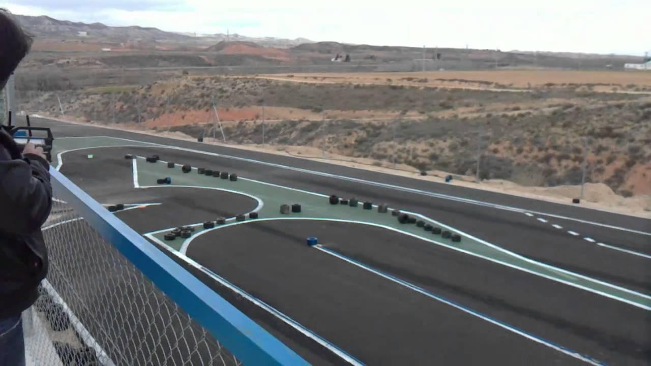Circuito Zaragoza : Circuito de mozota rc zaragoza pista electrico ii