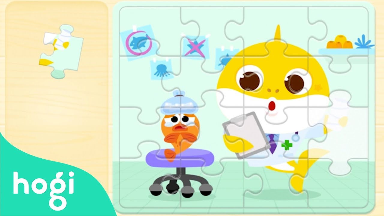 [Find Hidden Code] Puzzle Game with Baby Shark | Pinkfong Games | Game for Kids