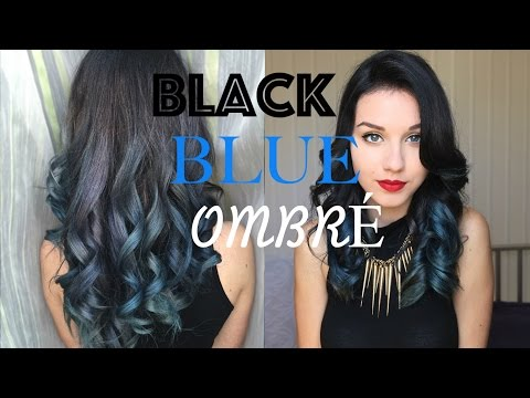 metallic black roots blue grey hair removing dyes from