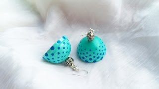 Paper Quilled Jhumkas - Make the Perfect Dome/Jhumka - Part 1