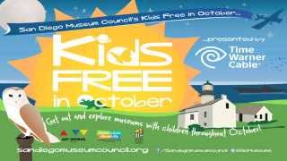 San Diego Museum Council - Kids Free in October Commercial, 2014