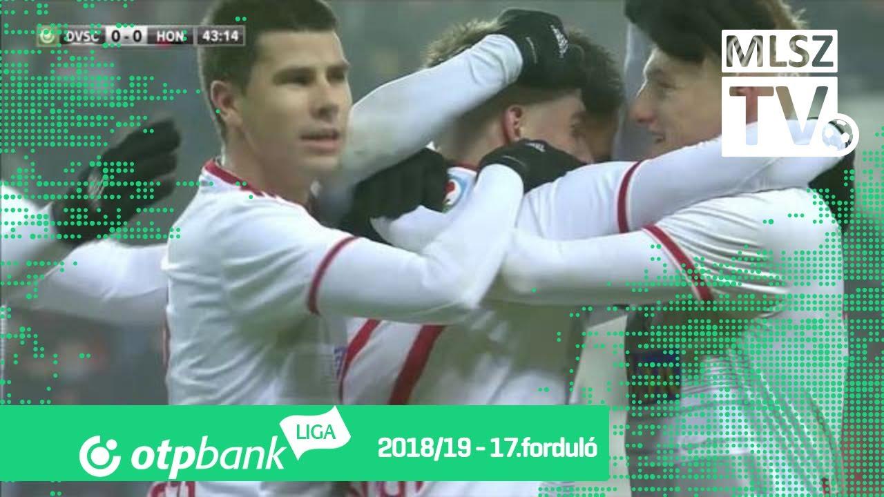 Bódi Ádám gólja a DVSC – Budapest Honvéd mérkőzésen