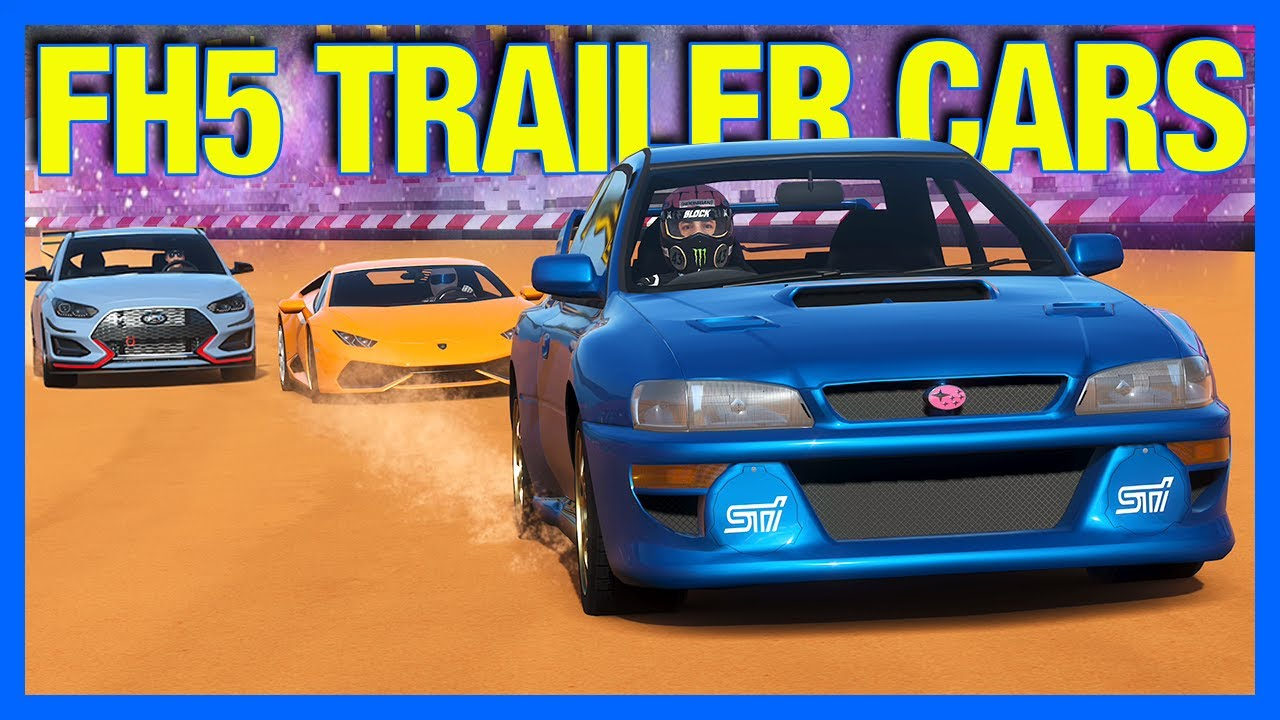 Forza Horizon 4 : The BEST Forza Horzion 5 Trailer Car Challenge!!