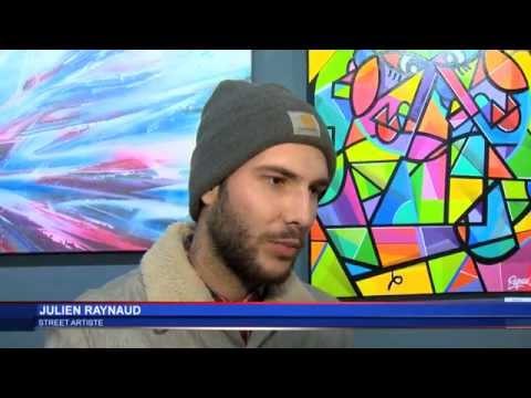 Street Art à l'Art Gallery Show de Monaco