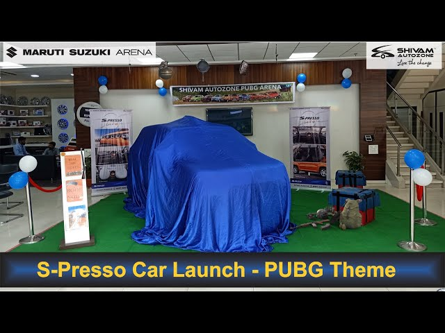 S-Presso VXI+ Launch with PUBG Theme - Walkaround |Shivam Autozone