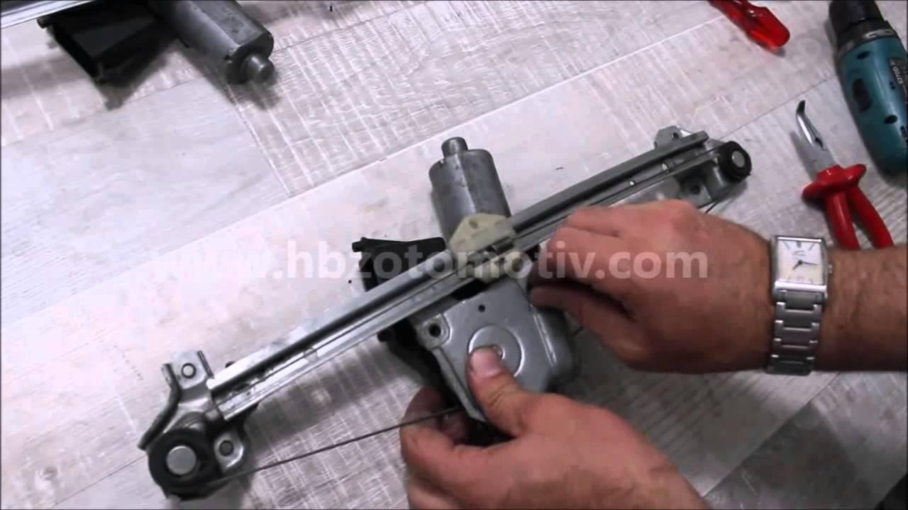 Opel Astra Window Regulator Repair Kit Youtube F Circuit Diagram