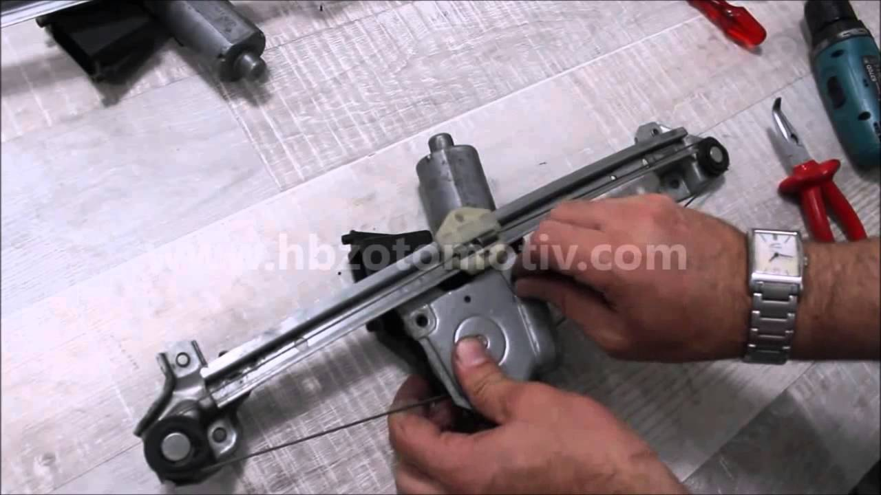 OPEL VAUXHALL Zafira front right window regulator repair kit