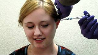 Jodie Getting Her Cartilage Pierced