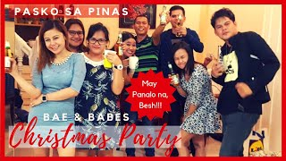 Vlogmas: Blowjob Games: For Adults Only! | Christmas Party in the Philippines | Bae & Babes (Part 2)