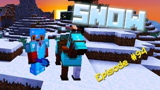 Minecraft Survival - SEARCHING FOR SNOW - Foxy's Survival World [94]