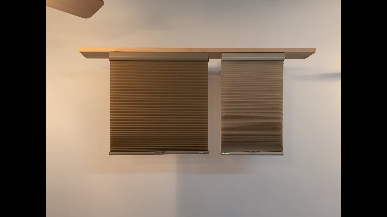 kirsch Vs Graber Honeycomb Shades YouTube